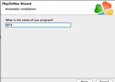 PlayOnMacを試してみる(その2-MT4編)